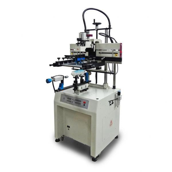 For Cylinderal / Curved Objects Screen Printing Machine