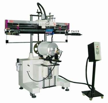 Large Curved Type Screen Printing Machine