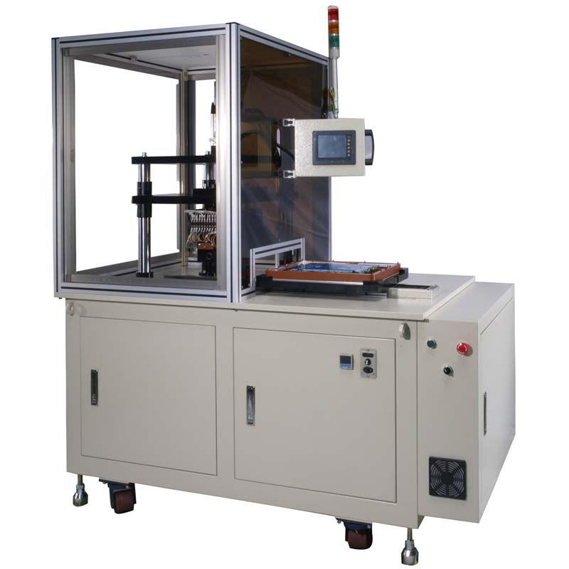 2D Hydraulic type vacuum heat transfer machine with slide table